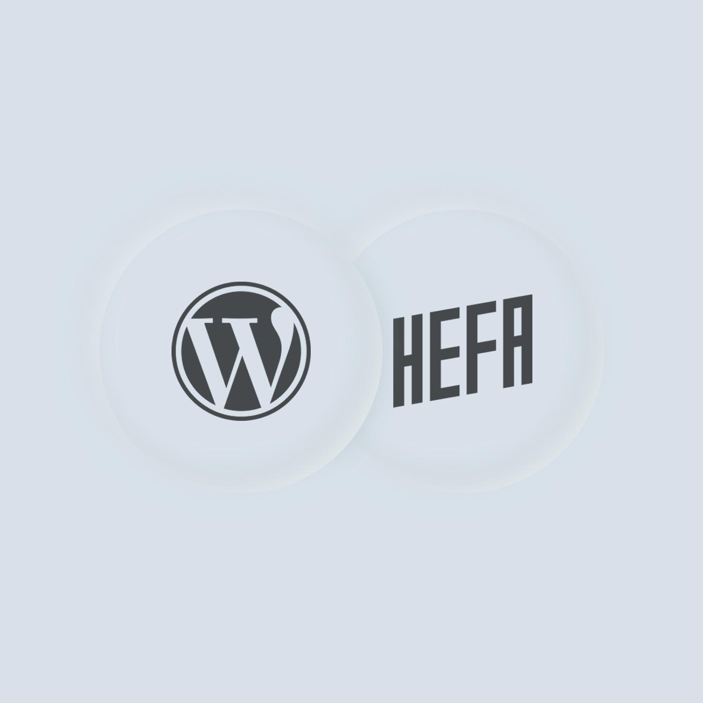 Hefa bruger wordpress til hjemmesider
